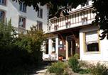 Hôtel Le Clerjus - Hôtel de la Fontaine Stanislas-1
