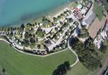 Camping avec Hébergements insolites Pont-de-Poitte - Kawan Village - Camping Le Lac du Lit du Roi-4