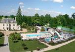 Camping avec Quartiers VIP / Premium Mesland - Camping Sandaya Château des Marais-1