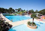 Camping avec Parc aquatique / toboggans Saint-Palais-sur-Mer - Bonne Anse Plage-1