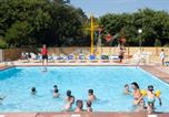 Camping avec Accès direct plage Azur - Camping L'International Erromardie-1