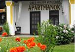 Location vacances Noszvaj - Öreg Malom Apartmanház-1