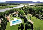 Camping avec Site nature Montfrin - Homair - Camping Les Rives du Luberon-1