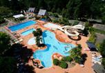 Camping avec Quartiers VIP / Premium Saint-Jean-le-Thomas - Castel Château de Galinée-3