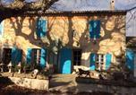 Hôtel Alleins - Les Volets Bleus Provence-2