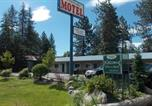 Hôtel Post Falls - Loon Lake Motel-2