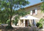 Location vacances Les Tourrettes - Five-Bedroom Holiday Home in Sauzet-1