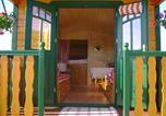 Location vacances Saint-Pierre-de-Vassols - La Grange de Campaulise - Camping à la ferme - Roulotte - Mont Ventoux-2