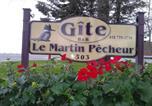 Hôtel Bonaventure - Gîte Le Martin Pêcheur-4