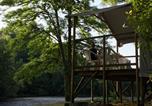 Camping avec Hébergements insolites Limousin - Huttopia Beaulieu sur Dordogne-3
