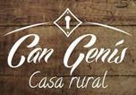 Location vacances Gualba - Can Genís-1