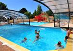 Camping avec Parc aquatique / toboggans Brem-sur-Mer - Camping La Trévillière-1
