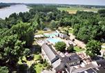 Camping avec Parc aquatique / toboggans Maine-et-Loire - Castel Domaine de la Brèche-1