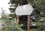 Hôtel Hinton - Pines Motel-3