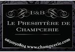 Location vacances Saint-Hilaire-de-Briouze - B&B et Gîte Le Presbytère de Champcerie-1