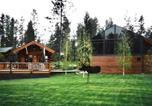 Villages vacances Whitefish - Silverwolf Log Chalets-2