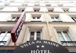 Hôtel Vanves - Villa Du Maine-4
