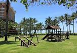 Location vacances Bertioga - Luxuoso apto pé na areia-3