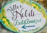 Location vacances Fisciano - B&B Villa I Nobili-3