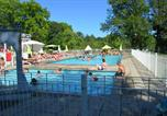 Camping avec Piscine Ustou - Camping Audinac les Bains-1