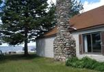 Location vacances Saint-Ignace - The Captain's Cabin, Cottage at Moran-1