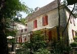 Hôtel Naussannes - Chambres d'Hôtes La Gentilhommière - Restaurant Etincelles-1