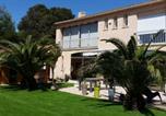 Location vacances Sérignan - Villa jardin spa sauna-1