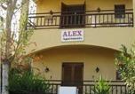 Hôtel Γουβες - Alex Apartments-2