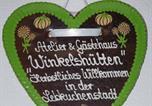 Location vacances Bad Essen - Atelier&Gästehaus Winkelshütten-4