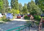 Camping en Bord de lac Lathuile - Camping Ile de la Comtesse-2