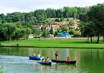 Camping avec Ambiance club Lot - Camping Du Domaine Du Surgie-4