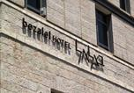 Hôtel Jérusalem - Bezalel Hotel - an Atlas Boutique Hotel-4