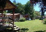 Camping avec Hébergements insolites Pont-de-Poitte - Camping La Pourvoirie des Ellandes-2