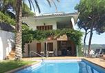 Location vacances Sant Cebria de Vallalta - Holiday home St Cebria de Vallalta 12 with Outdoor Swimmingpool-3