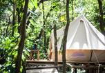 Camping  Acceptant les animaux Costa Rica - Bar'coquebrado camping-4