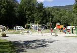 Camping avec Piscine couverte / chauffée Neydens - Nature & Lodge Camping Les Dômes de Miage-4