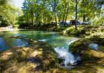 Camping  Acceptant les animaux Vitrac - Camping Les Cascades-4