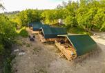 Camping  Acceptant les animaux République tchèque - Safari tent at Kemp Stríbrný Rybník-1