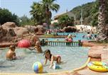 Camping avec Parc aquatique / toboggans Nice - Camping La Vallée du Paradis-1