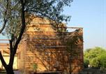 Hôtel Gardanne - Holzhaus-4