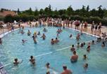 Camping avec Parc aquatique / toboggans Croatie - Adriatic Kamp Mobile Homes Bi Village-1