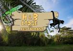 Location vacances Paquera - H&B Lodge Restaurant-4