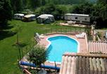 Camping  Acceptant les animaux Aveyron - Camping La Mouline-1