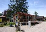 Camping avec Hébergements insolites Pont-de-Poitte - Camping La Pourvoirie des Ellandes-1