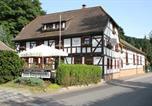 Hôtel Wickerode - Hotel Zum Bürgergarten-2