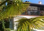 Hôtel Los Masos - Au pied du Canigou- Chambre d'hôtes Bleue et verte-2