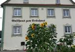 Location vacances Aulendorf - Gasthof zum Bräuhaus Rossberg-4