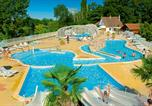 Camping avec Parc aquatique / toboggans Mesland - Camping Le Parc des Allais-1