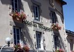 Hôtel Bessines-sur-Gartempe - Hôtel - Restaurant des Voyageurs-4