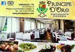 Hôtel Rivarolo Canavese - Ristorante Pizzeria Principe D'Oro-4